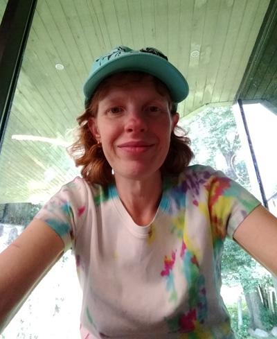 Linda at Zoo