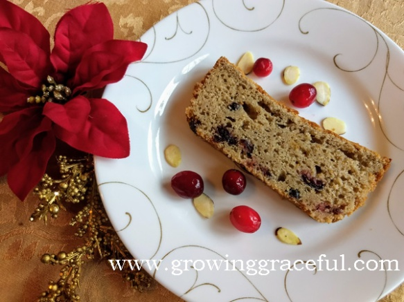 Cranberry Almond Bread, Gluten-Free Sourdough at growinggraceful copy
