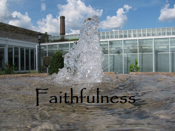 Growing in the Fruit of Faithfulness