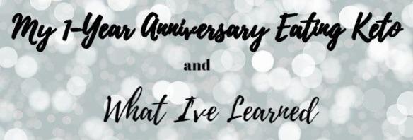 Keto 1 Year Anniversary