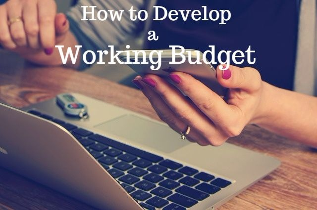 How to develop a budget
