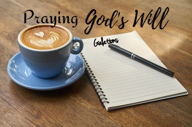 Praying Notebook Galations