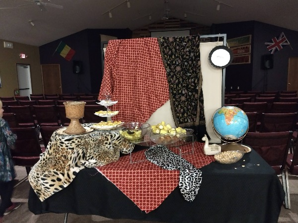 Africa table