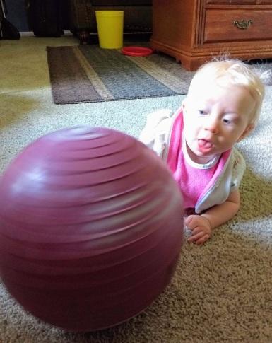 Melody 9 months ball 2